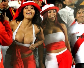 The Peru girls are starting to steal the show.