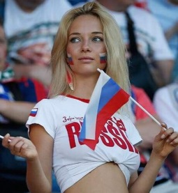 That Russian girl again.